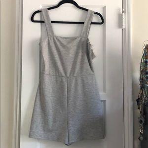NWT! Zara grey romper. Size medium